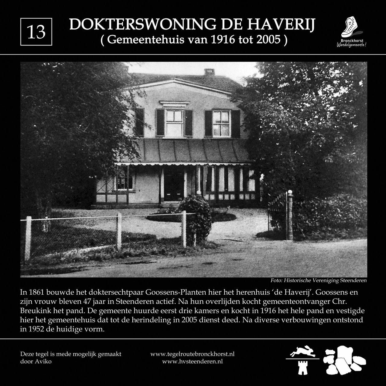 Foto-tegel 'de Haverij' Steenderen