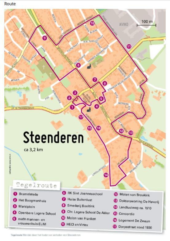 Foto-tegelroute Steenderen
